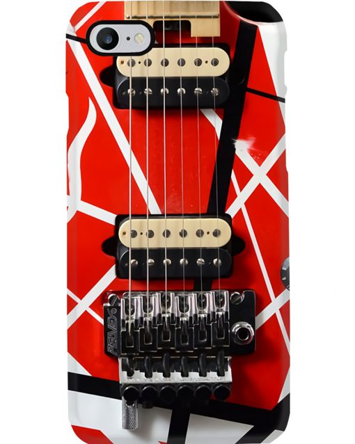 Eddie Van Halen Guitar Pattern Phone Case