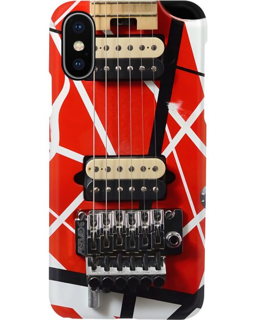 Eddie Van Halen Guitar Pattern Phone Case1