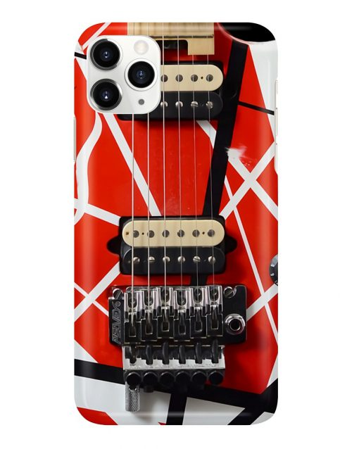 Eddie Van Halen Guitar Pattern Phone Case2