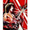 Eddie Van Halen Guitar Poster