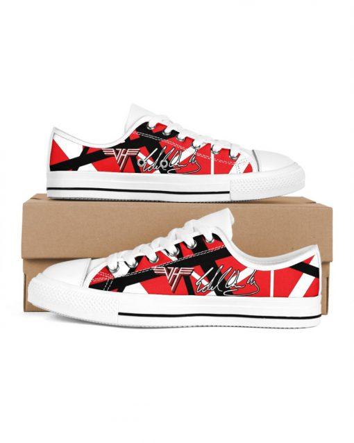 Eddie Van Halen Low Top Shoes
