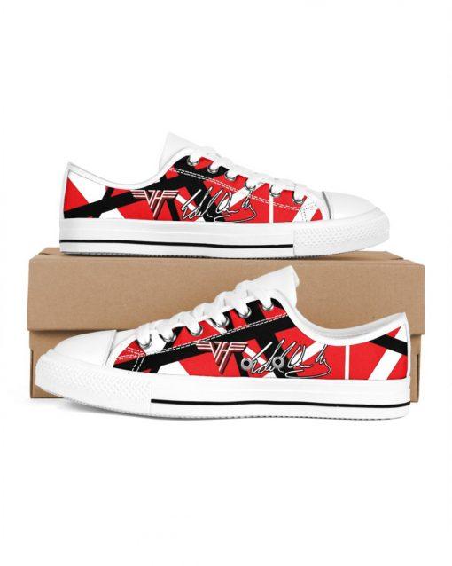 Eddie Van Halen Low Top Shoes1