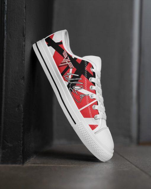 Eddie Van Halen Low Top Shoes2