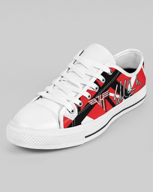 Eddie Van Halen Low Top Shoes3
