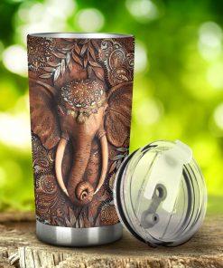 Elephant 3D tumbler