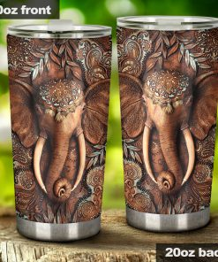 Elephant 3D tumbler1