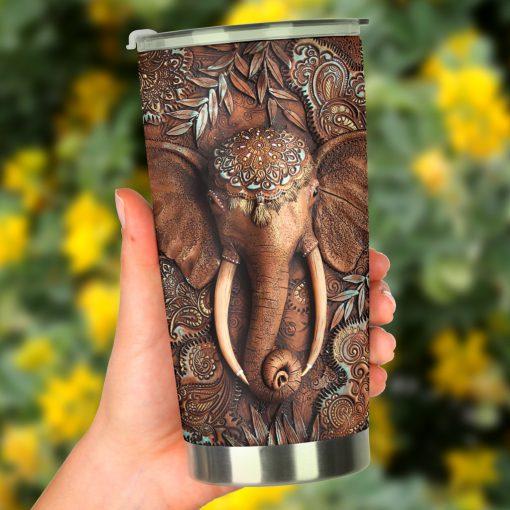 Elephant 3D tumbler2