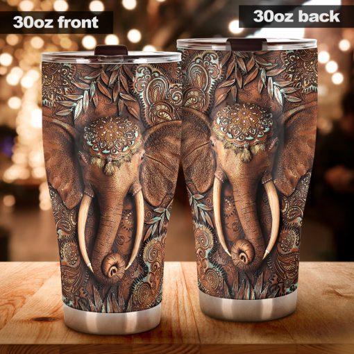Elephant 3D tumbler3