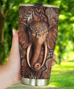 Elephant 3D tumbler4