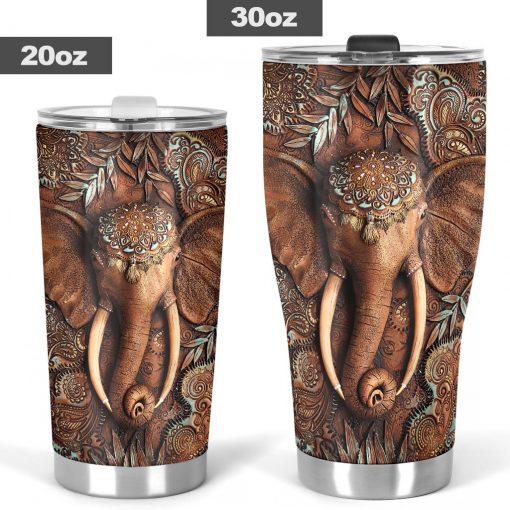 Elephant 3D tumbler6