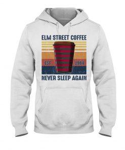 Elm Street Coffee Never Sleep Agian Est 1984 hoodie