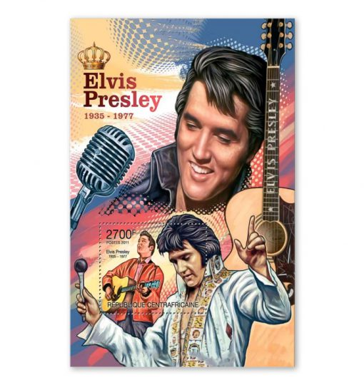 Elvis Presley 1935-1977 vintage poster