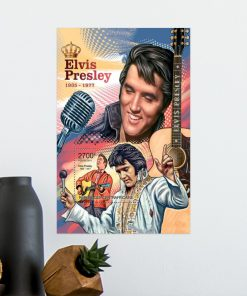 Elvis Presley 1935-1977 vintage poster2