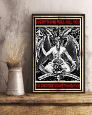 Everything will kill you so choose something fun Satan poster 3