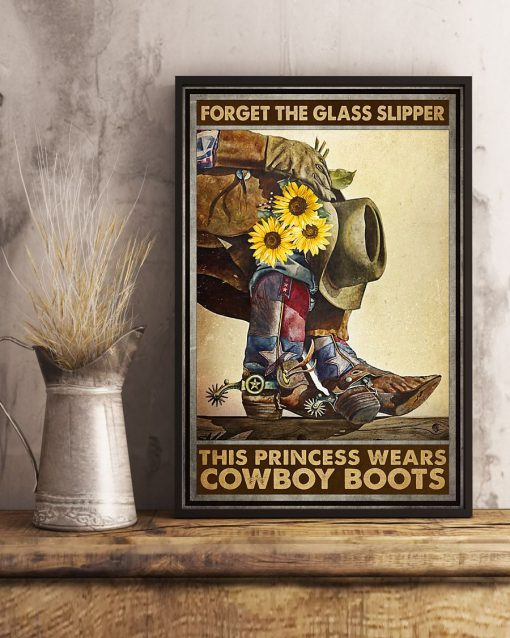Forget glass slippers this princess wears boots poster2