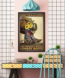 Forget glass slippers this princess wears boots poster3