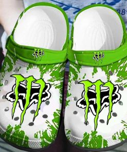 Fox Racing Monster Energy Crocs Crocband Clog