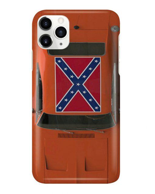 General Lee Car The Dukes of Hazzard phone case2
