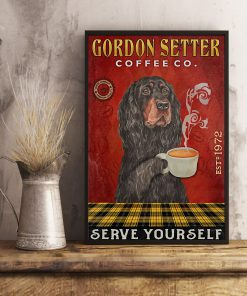 Gordon Setter Coffee Company Serve Yourself Poster 3
