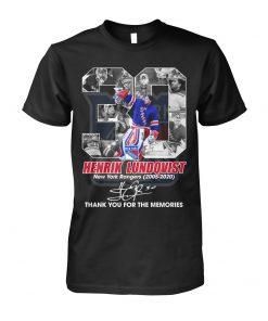 Henrik Lundqvist New York Rangers 2005-2020 T-shirt