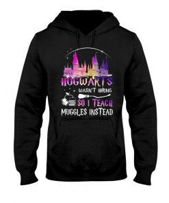 Hogwarts wasn't hiring so I teach muggles instead Hoodie