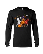 Horse In Halloween Costume long sleeve