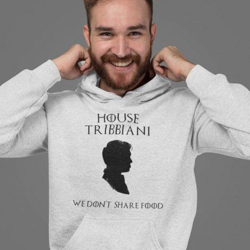 House Tribbiani We don't share food shirt 0