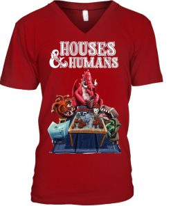 Houses & Humans V-neck