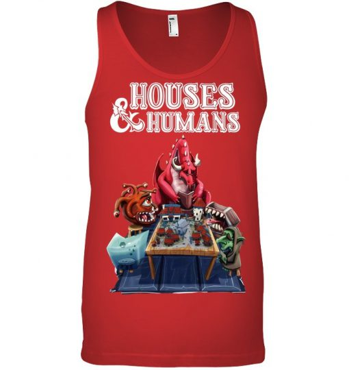 Houses & Humans tank top