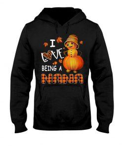 I Love Being A Nana - Pumpkin Hoodie