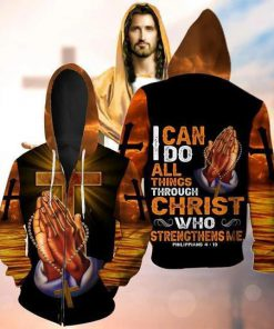I can do all things through Christ who strengthens me 3D hoodie1