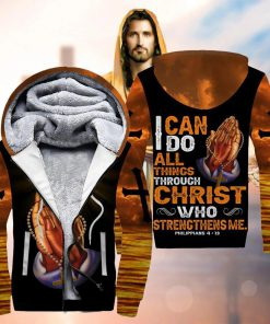 I can do all things through Christ who strengthens me 3D hoodie2