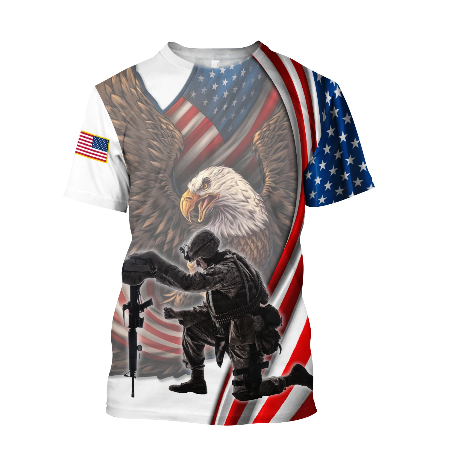 Top Selling If You Haven't Risked Coming Home Under A Flag Don't you dare disrespect it US Veteran 3D All Over Printed Hoodie