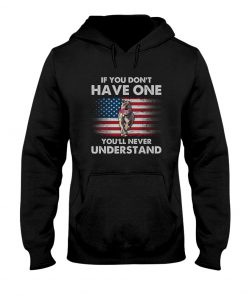 If you don't have one you'll never understand Pitbull American Flag hoodie