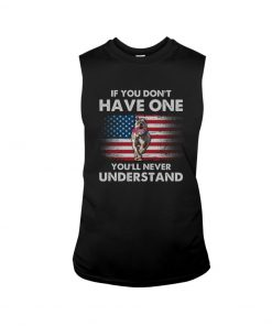 If you don't have one you'll never understand Pitbull American Flag tank top