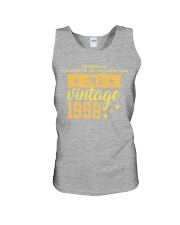 I'm wearing this shirt to let you know that I'm a vintage 1959 tank top