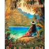 In a world full of princesses be a Hawaii girl poster