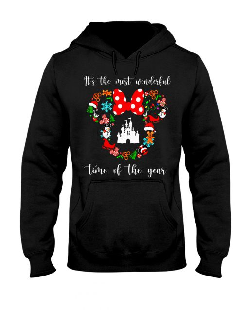 It's the most wonderful time of the year Disney Christmas hoodie