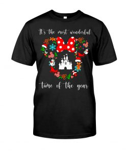 It's the most wonderful time of the year Disney Christmas shirt