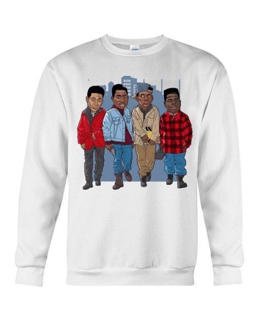 Juice 1992 Friends Art Sweatshirt