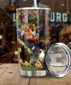 Just A Girl Who Loves Chickens Raising Chickens Knowledge Tumbler 1