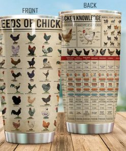 Just A Girl Who Loves Chickens Raising Chickens Knowledge Tumbler 2