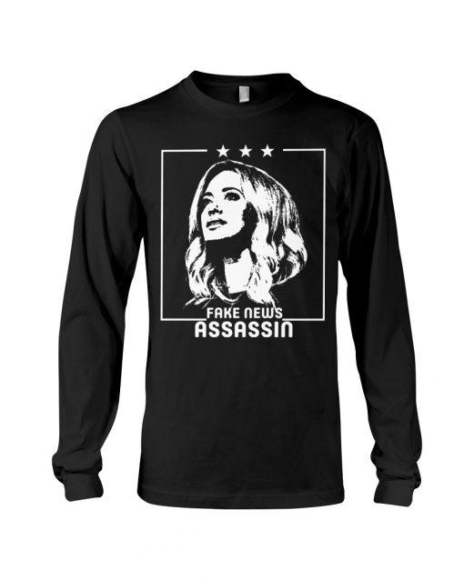 Kayleigh McEnany Fake News Assassin Long sleeve