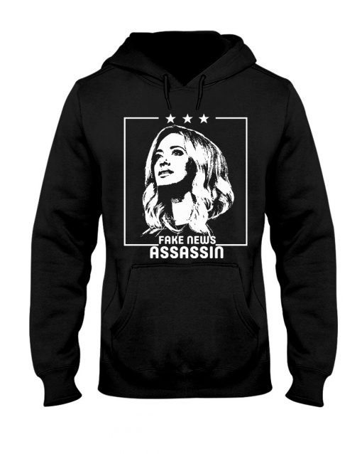Kayleigh McEnany Fake News Assassin hoodie