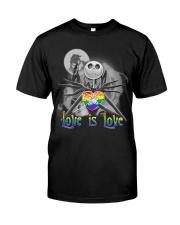 Love is love Jack Skellington Halloween LGBT shirt