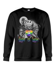 Love is love Jack Skellington Halloween LGBT sweatshirt
