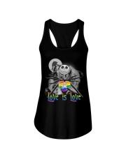 Love is love Jack Skellington Halloween LGBT tank top