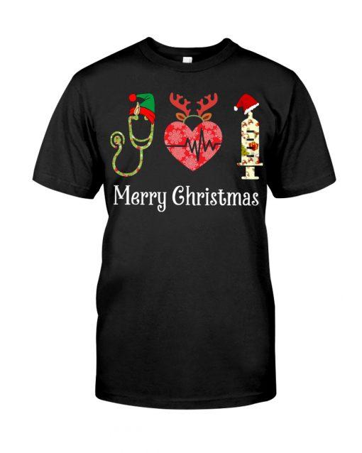 Merry Christmas Nurse Shirt