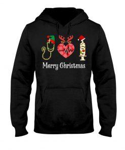 Merry Christmas Nurse hoodie