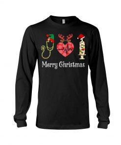 Merry Christmas Nurse long sleeve
